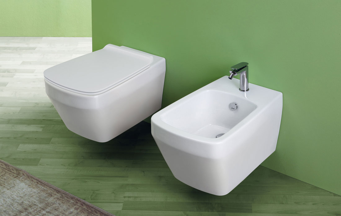 Wall-hung WC and bidet BADEN BADEN by Simas