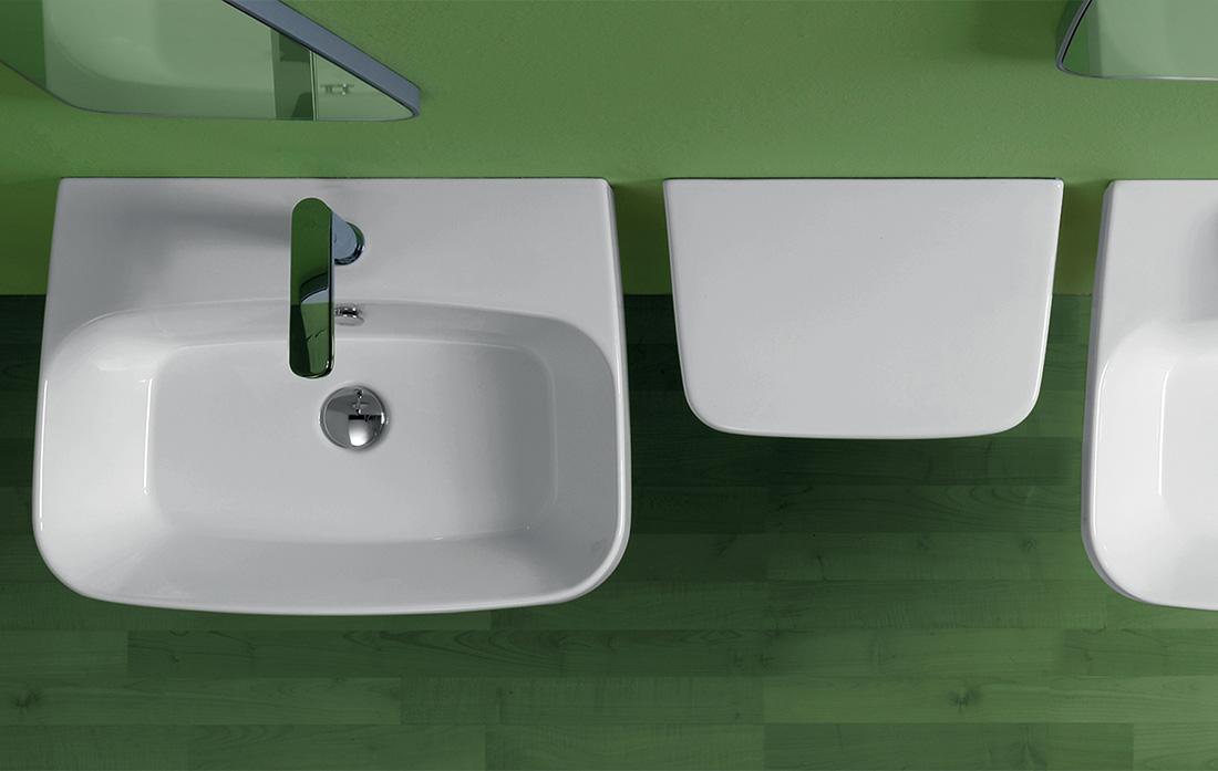 Baden Baden by Simas - mirror + shelf for the bathroom