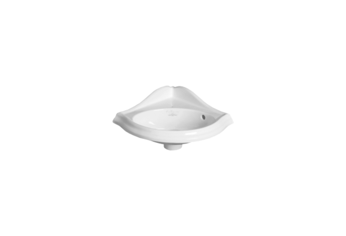 Wall hung corner wash-hand basin 34 AR 036