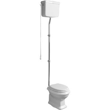 Back to wall WC and cistern with lid AR 801 / AR 811 + AR 802