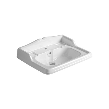Wall hung or on pedestal Washbasin 68 AR 824