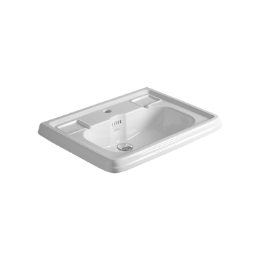 Wall hung or on pedestal Washbasin 68 AR 844