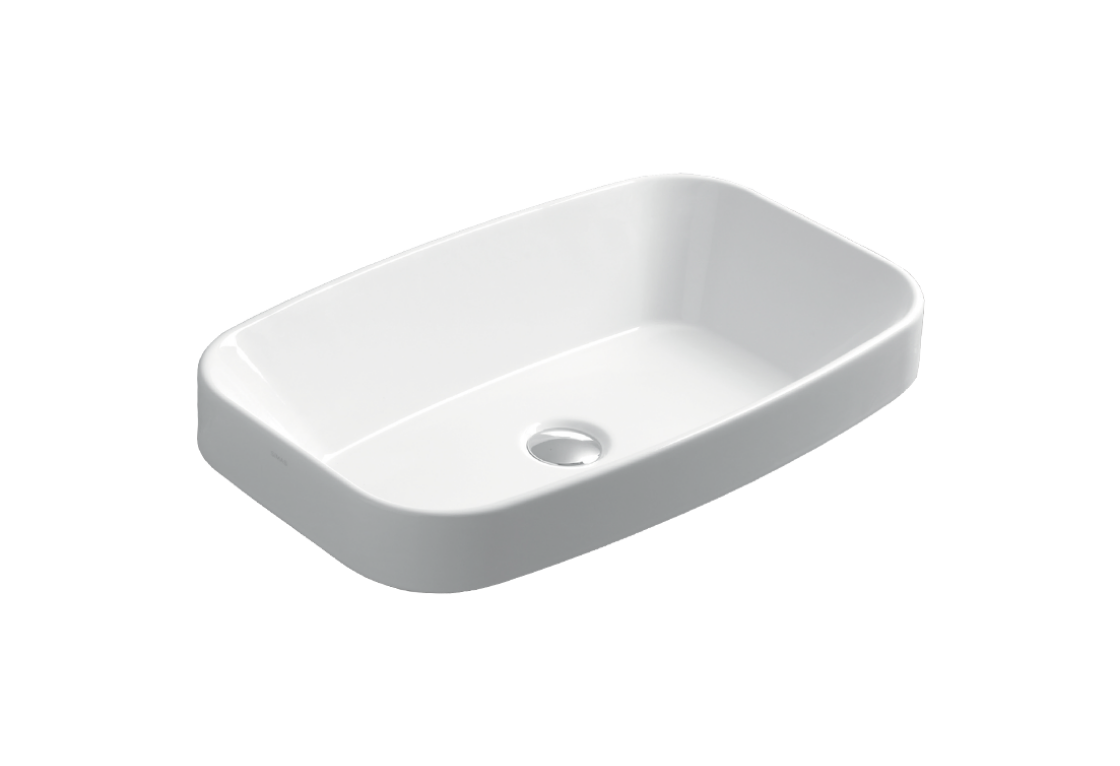 Counter top or fully inset  washbasin 60 BB 11