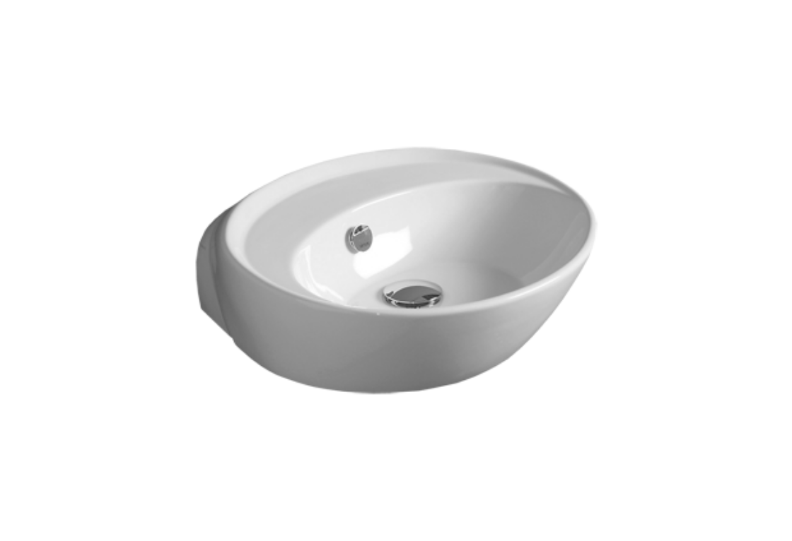 Counter top or wall hung Washbasin 50 BO 10