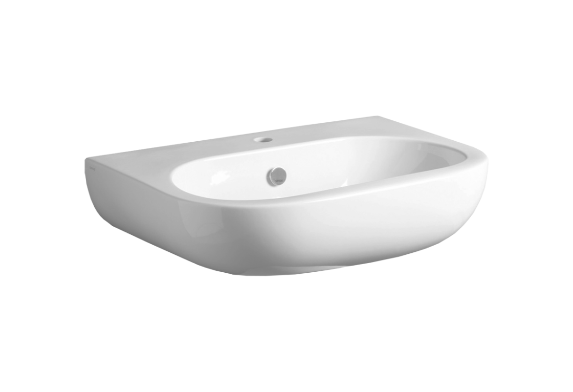 Washbasin 65 wall hung or on pedestal EL 05