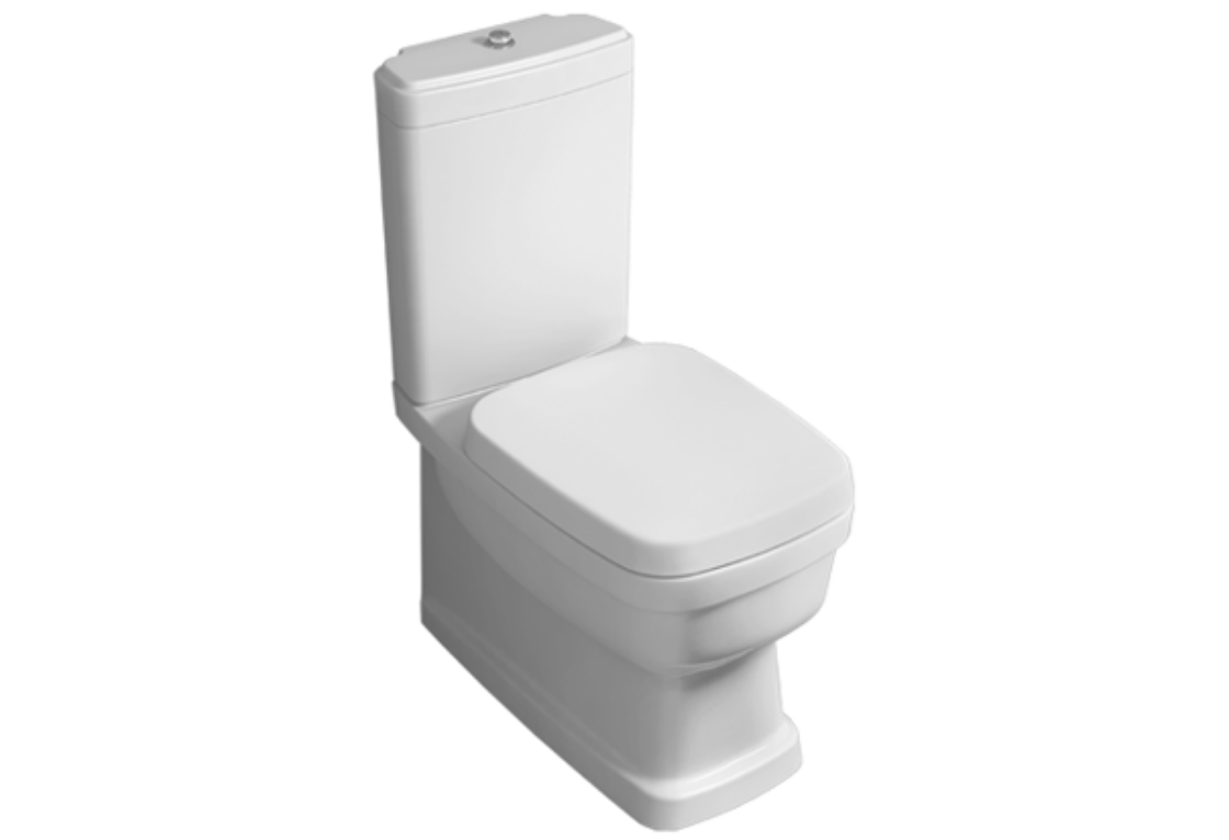 Floor mounted close coupled WC EVO 07
