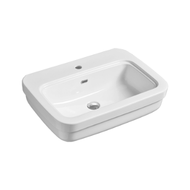 Washbasin 70 wall hung or on pedestal EVO 11