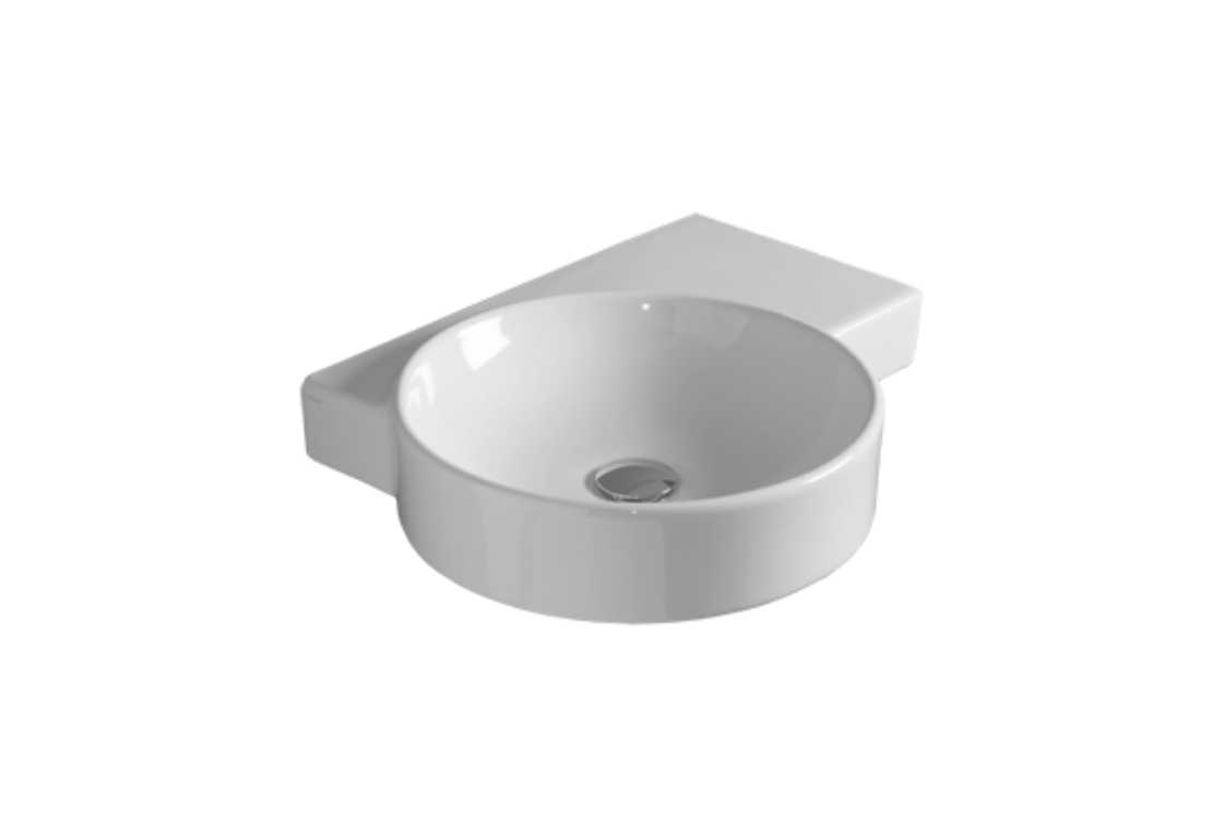 Round wall hung  Washbasin 63 FL 04