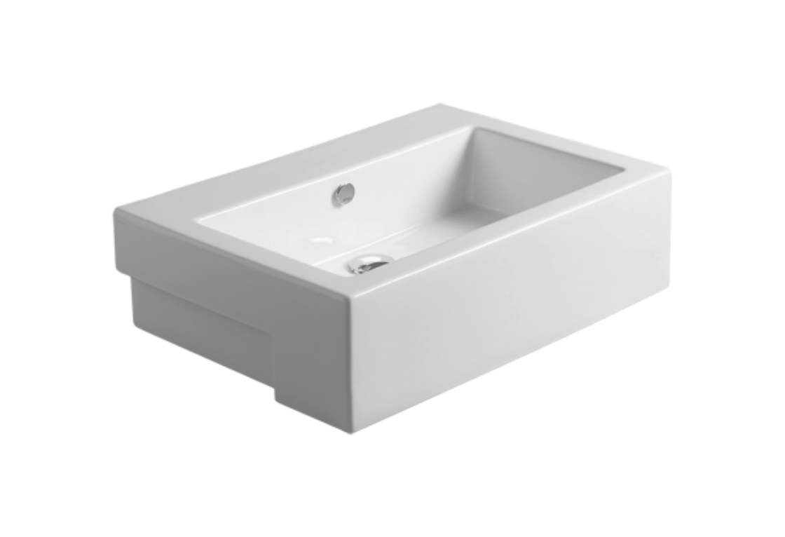 Semi-inset Washbasin 70 FZ 15