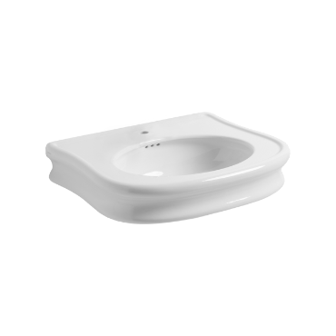 Wall hung or on pedestal Washbasin 70 LA 10