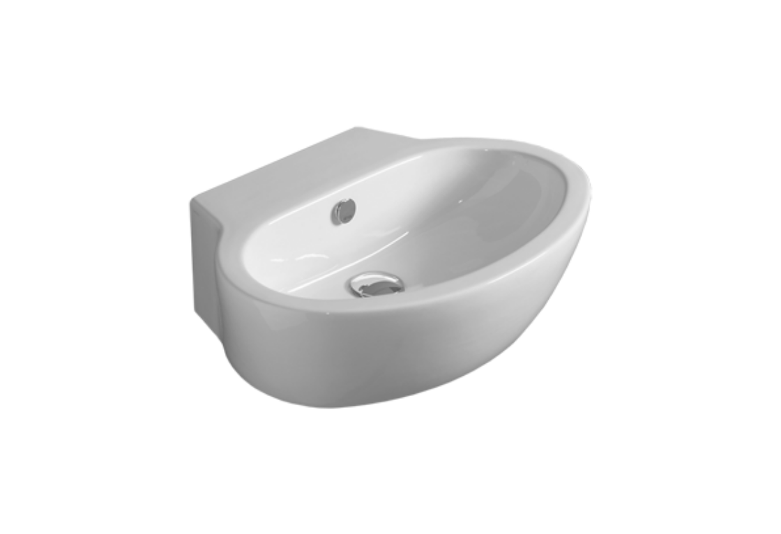 Counter top or wall hung washbasin 60 LFT 24