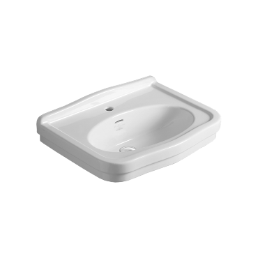Washbasin 68 wall hung or on pedestal LO 924