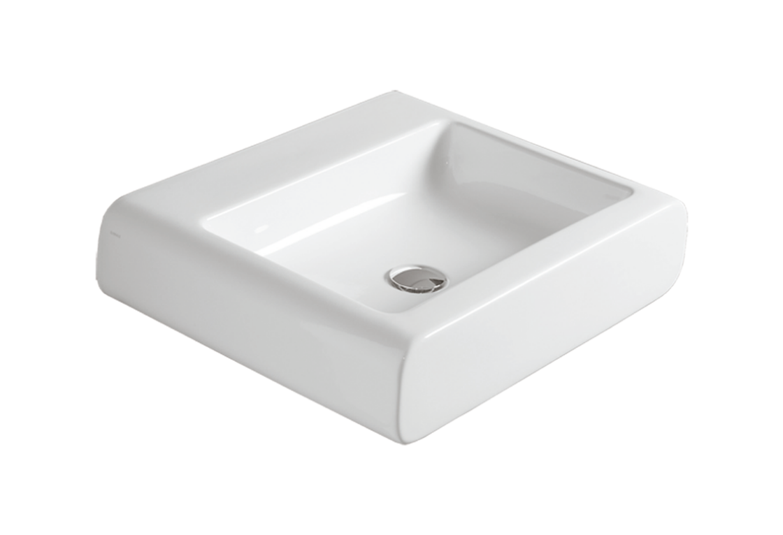 Counter top or wall hung Washbasin 60 OH 10