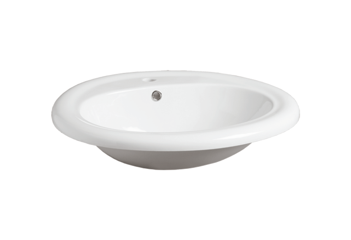 Fully inset Washbasin 64 S 51