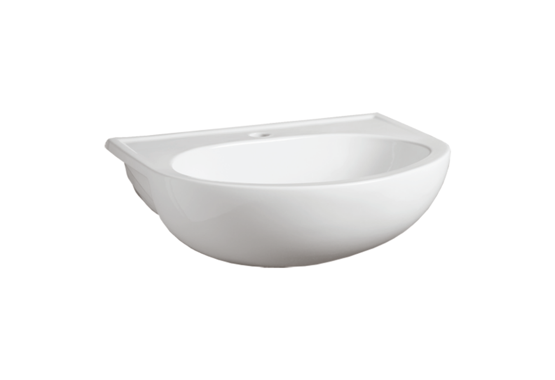 Semi-inset Washbasin 56 S 58