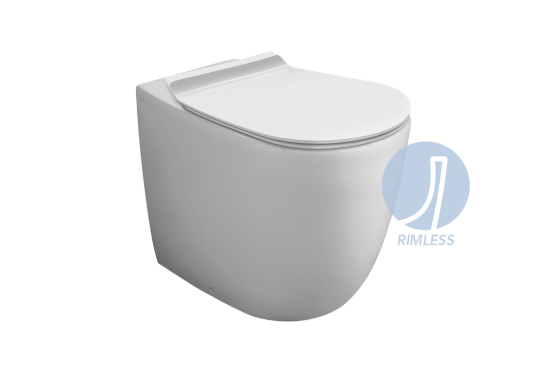 """Rimless"" Back to wall WC VI 01"