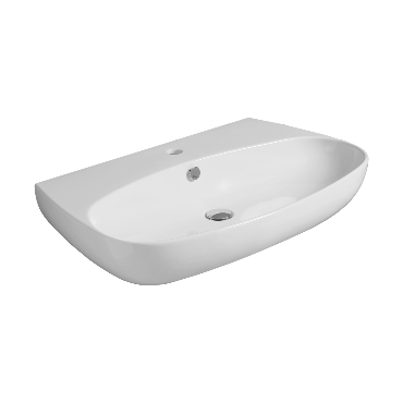 Counter top or wall hung Washbasin 80 - VI 11